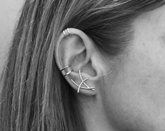 Single Mangrove Collection Ear Climber