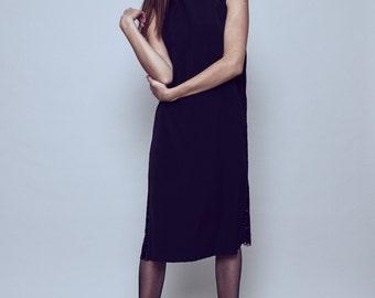 SALE -30% Black sleeveless dress