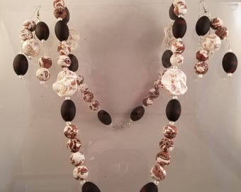 Combination of Modern and Vintage Rubberized Beads and China Beads