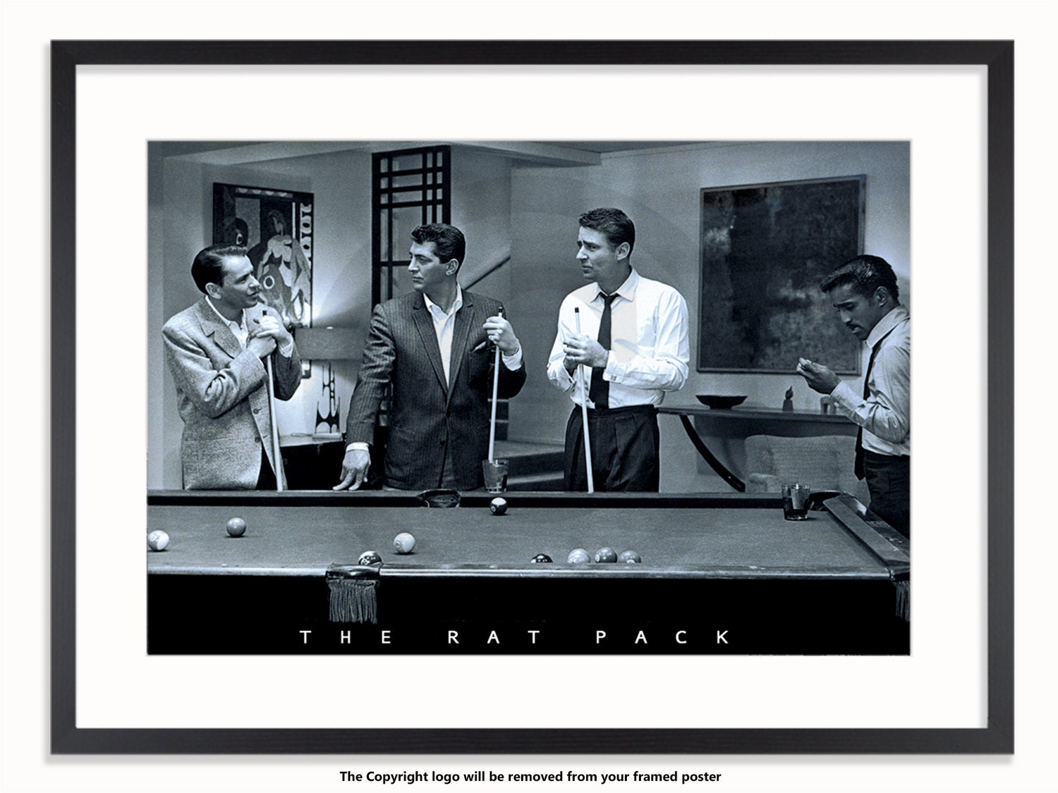 The Rat Pack Pool Classic Poster
