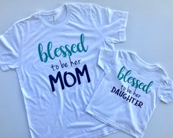 Mommy and Me Matching Shirts