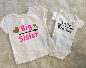 Big Sister/Brother Announcement Shirts