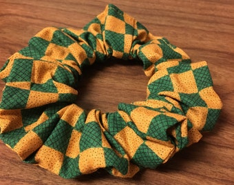 Scrunchie, Green and Gold Ter-do for your hair do