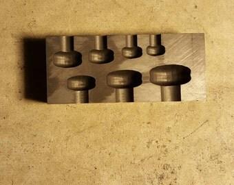 Graphite Mold: Guage Mold (10mm-22mm)