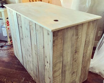 Cash wrap counter - made to order - Heather