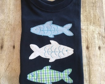 Fishies Applique Shirt