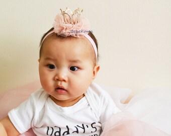 baby crown headband, crown headband, 1st birthday headband, crown headband baby, baby crown, baby headband, princess crown,princess headband