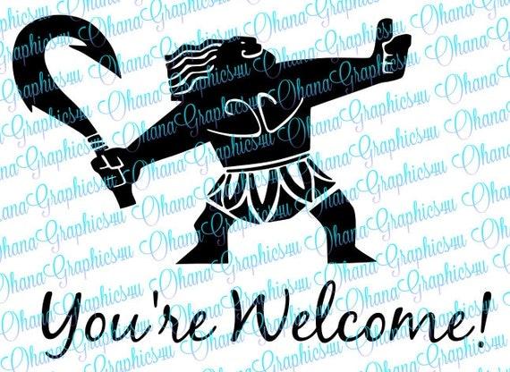 Maui Demigod You Re Welcome Svg