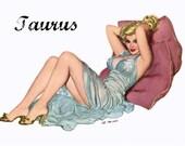 TAURUS TAROSCOPE- Limited Edition! via email/pdf