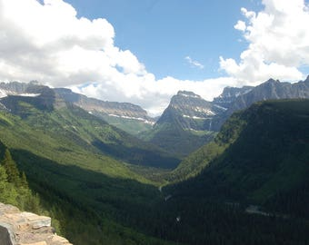 Going-to-the-Sun Road, Glacier National Park, Montana, USA Digital Download