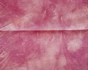 Hand Dyed Cross Stitch Fabric/25 ct Lugana Linen/Cross Stitch Fabric/Cross Stitch