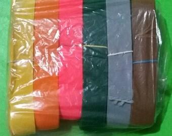 Rubber band set - 12 m - 6 colors
