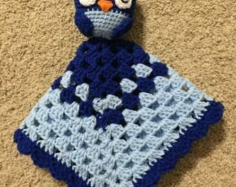 Owl Lovie Blanket/Toy