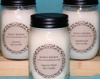 Soy Candle 16oz