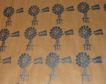 Silver Windmill - silver (wrapping)