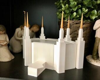 Dual-Color Washington D.C. LDS Temple Model