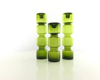 Riihimaki candle holders set of 3