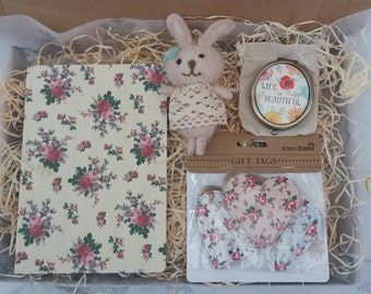 Vintage Themed Gift Box, Parcel