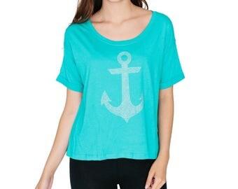 Anchor Boxy T Shirt