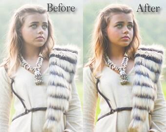 Color Burst Photoshop Action - Instant Download