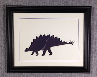 Dark Blue Dinosaur