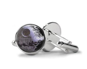 Death Star Cufflinks Star Wars Cufflinks PM-303