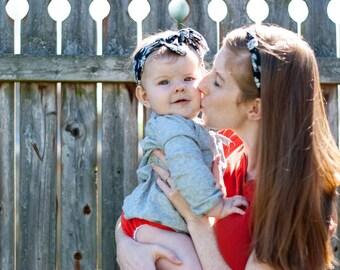 Mother Daughter Matching Headbands | Floral Headband