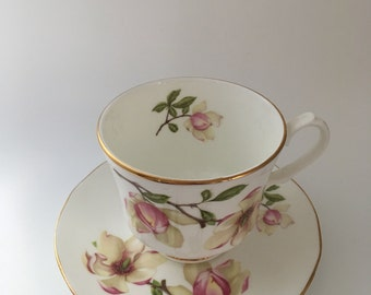 Vintage Royal Winchester Bone China Tea Cup and Saucer