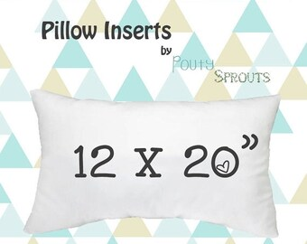 Lumbar Pillow Insert Etsy