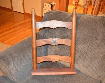 Vintage Chair Back Decorative Shelf