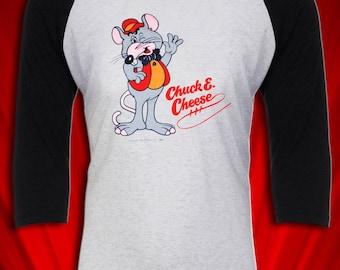 Chuck E. Cheese Pizza 1970s Vintage