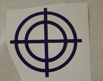 Hawkeye Marvel Decal Any Size Any Colors