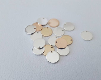 Additional discs for your order | 14K Rose Gold, Gold or Sterling Silver