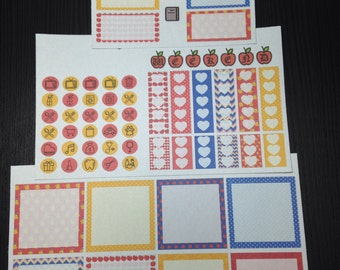 Magical Girl Weekly Kit for the Mini Happy Planner