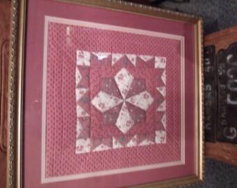 Framed quilts | Etsy : framed quilt art - Adamdwight.com