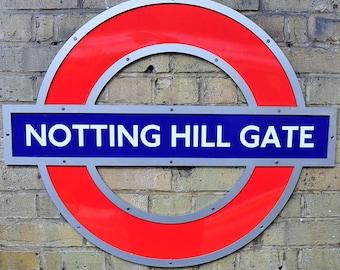 Fotografia Londra, fotografia Notting Hill gate, fotografia di viaggio, fotografia Fine Art, Londra decor