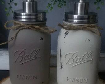 Quart Size Mason Jar Soap/Lotion Dispenser