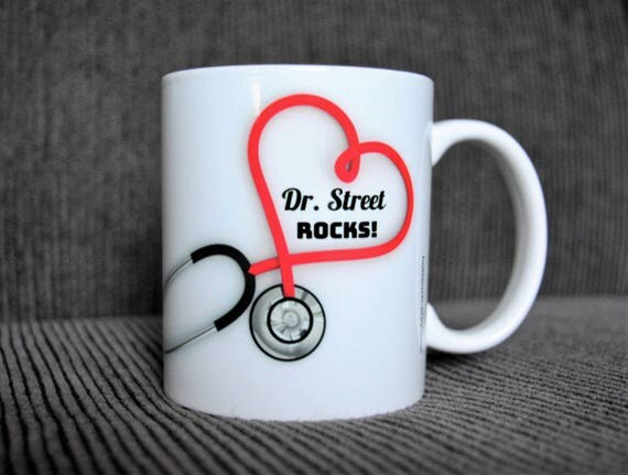 doctor's mug doctor's gift doctor thank you gift