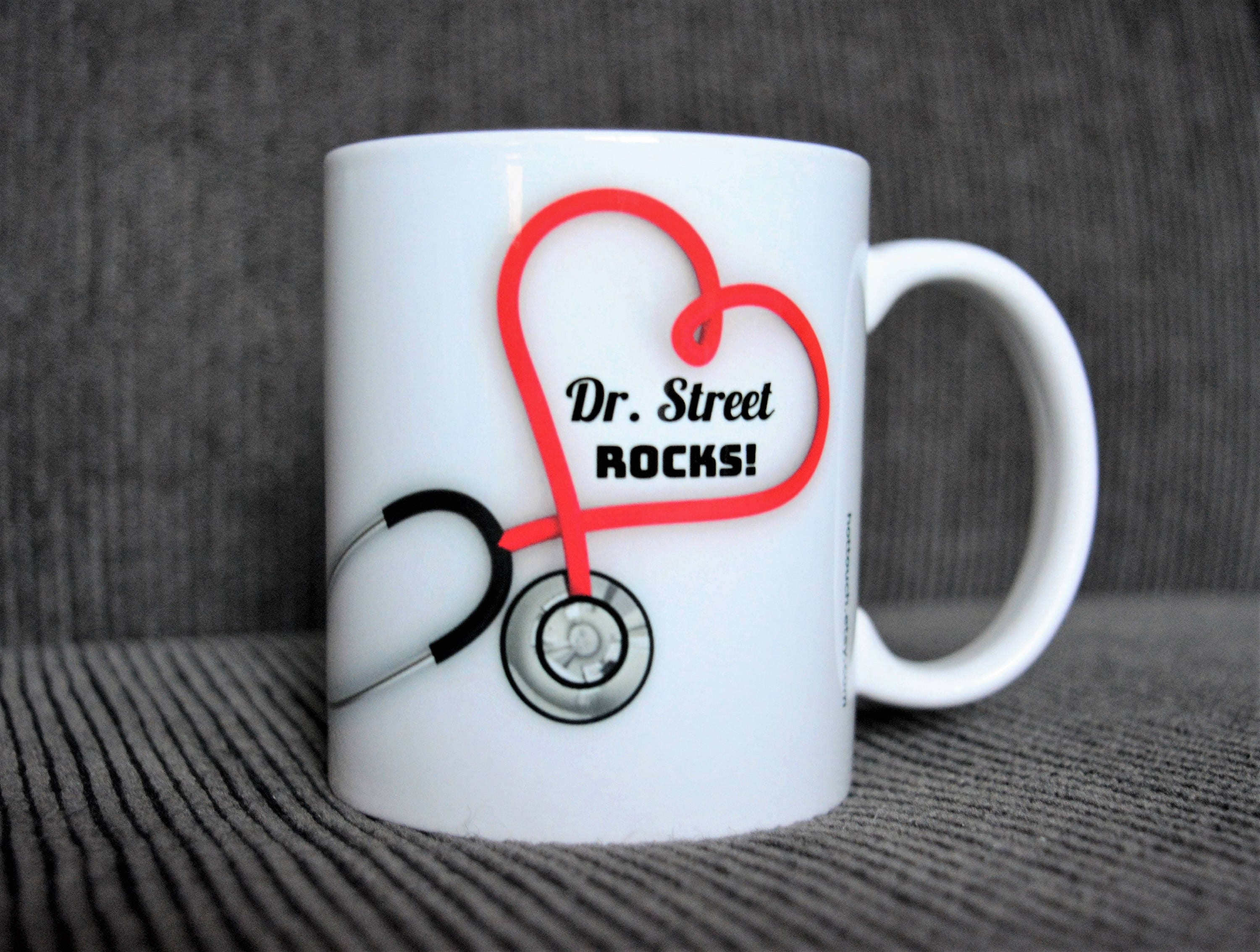 Worlds best doctor coffee mugs -  Zoom