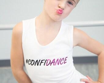 CONFIDANCE Tank for Dancing Girls! #CONFIDANCE