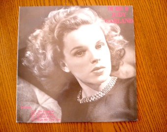 The Best of Judy Garland Vinyl Album