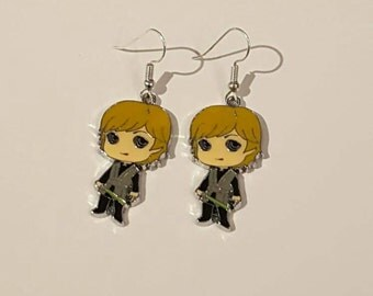 Luke Skywalker Star Wars Earrings