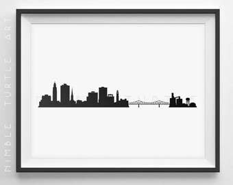 Baton Rouge Skyline Custom - No Text