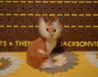 Furry Fox Figurine