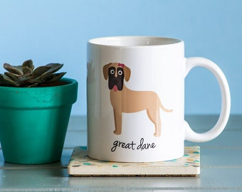 Great Dane Mug (girl)