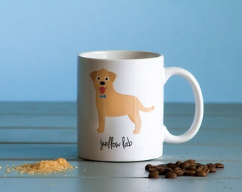Yellow Lab Mug (boy)