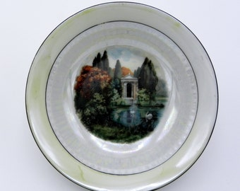 Antique Plate Porcelain German Zeta German porcelain plate Collection