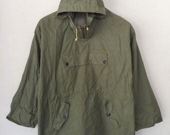 Vintage Army Pullover Half Zipper