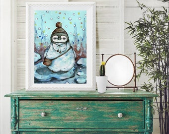 "Shop ""penguin gift"" in Art & Collectibles"