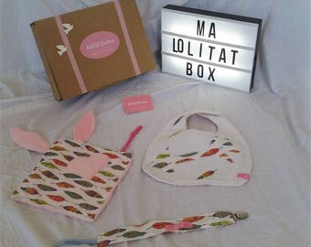 Plaited box baby patterns